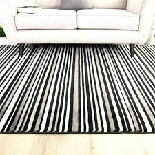 black and cream striped rug black and white striped rug rack runner area large size of