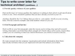 Cover Letter Architecture Cover Letter Architect To Help You With