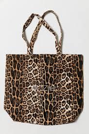 Canvas Tote Bag Leopard