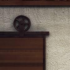 barn door rollers bunnings rolling barn door hardware kit