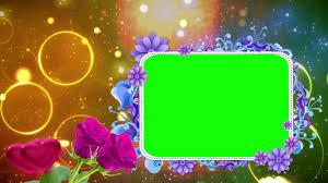 Free Wedding Frame Green Screen Background Effect Video Hd Green