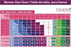 Weight Height Clothing Size Correspondence Chart To Help