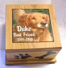 6 x6 pet urn animal ashes box wooden urn dog urn cat urn memorial box memory box memory urn photo urn picture urn