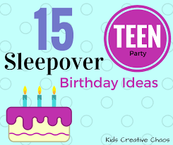 Teen sleepover games activities