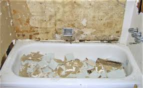 how to remove grout mortar and drywall mud from a bathtub