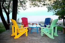 recycled plastic adirondack chairs canada