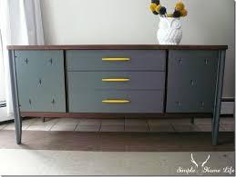 painted mid century furniture162 best Painted Furnituremid century images on Pinterest