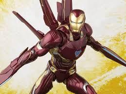 <b>Avengers</b>: <b>Infinity War</b> S.H.Figuarts Iron Man Mark L With <b>Nano</b> ...