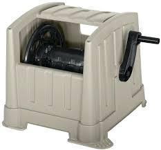 hose reel box water hose reel box ft portable garden yard outdoor heavy duty storage new