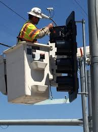 Image result for traffic signal repair