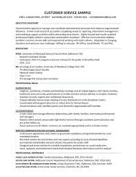 a good resume title for customer service a good customer service resume