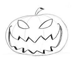 pumpkin drawing. drawing-pumpkin-faces-15 pumpkin drawing d