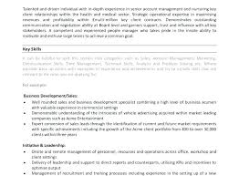 Skill Set Resume Magnificent Business Acumen Resume Examples With Skills Section Of Resume