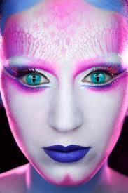katy perry fantasy face makeup