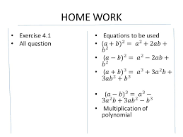 4 home work exercise 4 1 all question