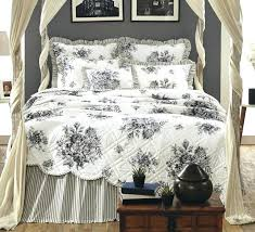Black Toile Josephine Quilt Toile Bedspreads And Quilts ... & Black Toile Josephine Quilt Toile Bedspreads And Quilts Adamdwight.com