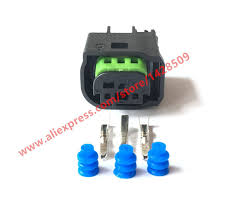 5 sets 3 pin connector female male waterproof wire harness connector Auto Electrical Harness Connectors 5 sets 3 pin connector female male waterproof wire harness connector for benz bmw 1