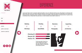 Therightbraintheory Digital Resume Cv Theme 1