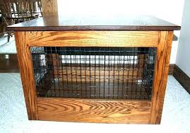 dog crate end table pet crate table wooden crate end table wooden crate end table image dog crate