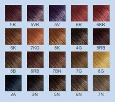 Goldwell Hair Color Chart 20 Best Goldwell Color Images Color Goldwell Color Chart