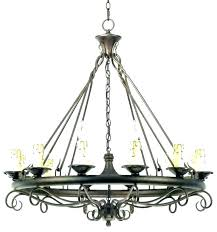 franklin iron works chandelier collection 5 light