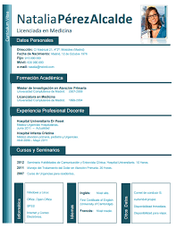 Formatos De Sintesis Curricular - April.onthemarch.co