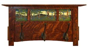 Mission Coat Rack Coat Racks astounding craftsman coat rack image description 15