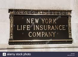 new york life insurance company sign nyc usa