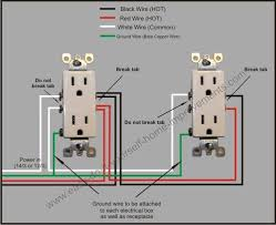 receptacle outlet wiring diagram receptacle image double outlet wiring diagram double auto wiring diagram schematic on receptacle outlet wiring diagram