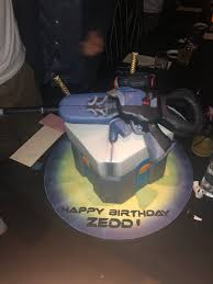 Zedd On Twitter This Is Hands Down The Best Bday Cake Of All Time