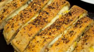 Cheesy Garlic Bread Sticks Cheese And Corn Stuffed Garlic Bread