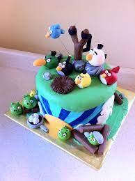 Blue Angry Bird Cake (Page 1) - Line.17QQ.com