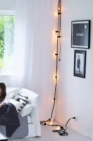 string light diy ideas cool home. String Light DIY Ideas For Cool Home Decor | Black Wired Statement Lights Are Fun Diy H