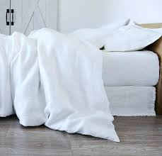 duvet cover linen rough bedding smooth queen king twin white ikea review