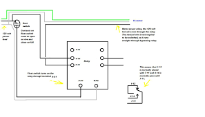 6 pin relay wiring diagram wiring diagram and hernes how to connect a dpdt relay in circuit