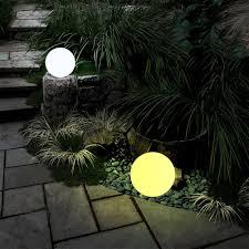 Evergreen Outdoor Landscape Lighting Us 8 19 35 Off 7 Color Changing Led Solar Lights Waterproof Floating Night Lamp For Ponds Garden Villa Plaza Outdoor Landscape Decoration Light In