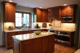 Small Picture Kitchen Design Cherry Cabinets Traditional Dark Wood Cherry