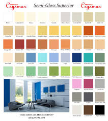 colores de pintura imagenes carta semigloss modelos moda pinturas para interiores 2018