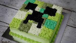 Creeper Cake Design Minecraft Birthday Cake In The Way You Love