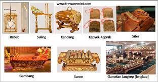 Terbuat dari kulit sapi yang tidak tebal, kulit kambing, rotan, atau bahkan kulit nangka. 20 Alat Musik Tradisional Indonesia Dengan Gambar Berikut Penjelasan Lengkapnya