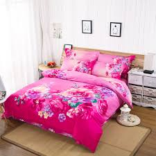 king size duvet cover sets textile color picture more detailed about hot pink 3d
