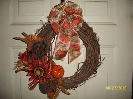 Fall Wreath Joanns Creations Inspirations From My House To Yours