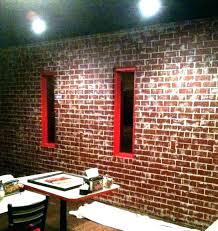 faux brick wall panels home depot image of unique tile white
