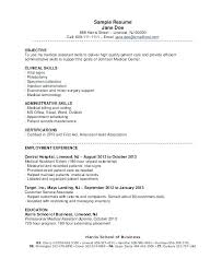 objective samples for a resumes medical assistant resume objective medical sample resume objective