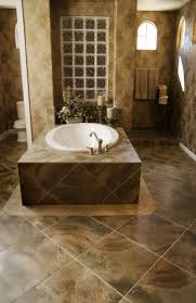 Brown Tiles Bathroom Bathroom 5 Ways To Make Bathroom Tile Combinations Tile Flooring