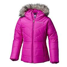 Columbia Baby Size Chart Columbia Kids Baby Girls Katelyn Crest Jacket Toddler Bright Plum 2 4t