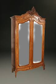 french antique hand carved armoire. 19th Century French Louis XV Hand Carved Walnut Armoire, Circa 1870. # Antique Armoire