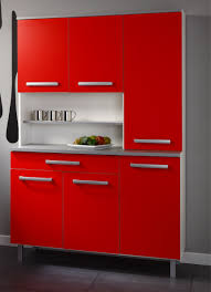 Red And Gold Kitchen Kitchen Room Modern Small Kitchen Wall Unit Walls White Cabinets