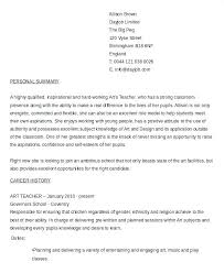 Art Teacher Resume Art Teacher Resume Template Noxdefense Com