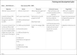 Leadership Development Plan Template Example Proposal